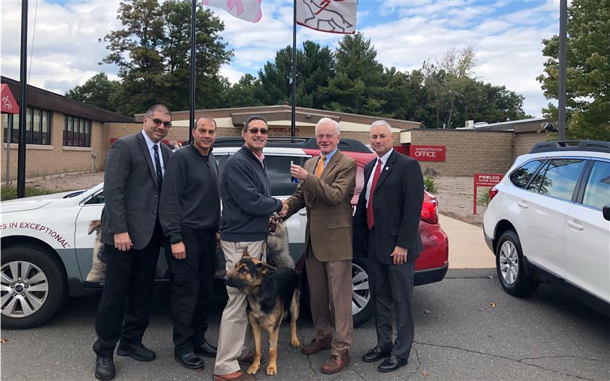 2019 Subaru Outbacks for Fidelco's Guide Dogs
