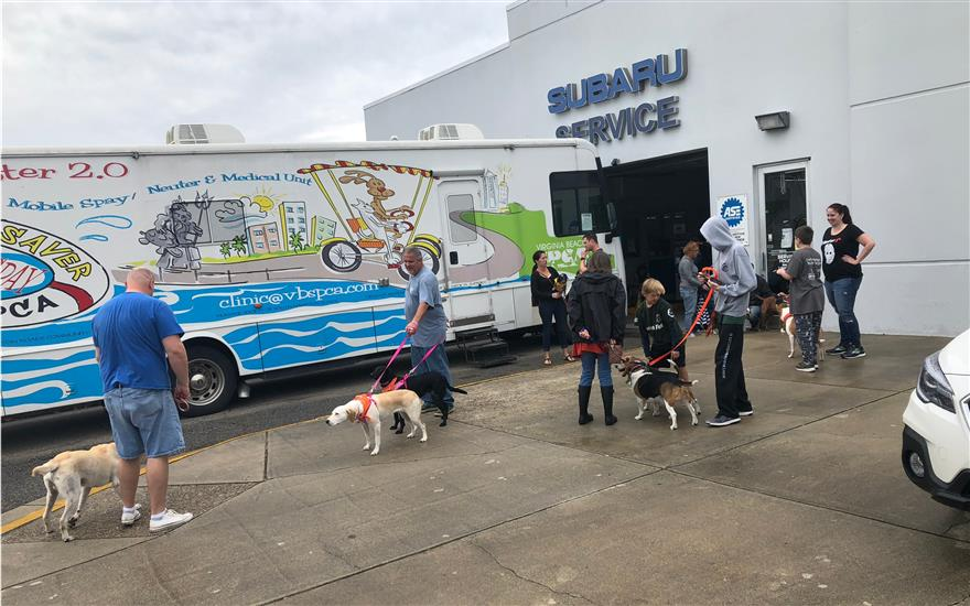 Neuter Scooter event