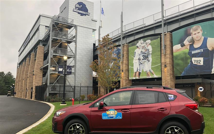World Subaru Supports Monmouth U. Homecoming 2018