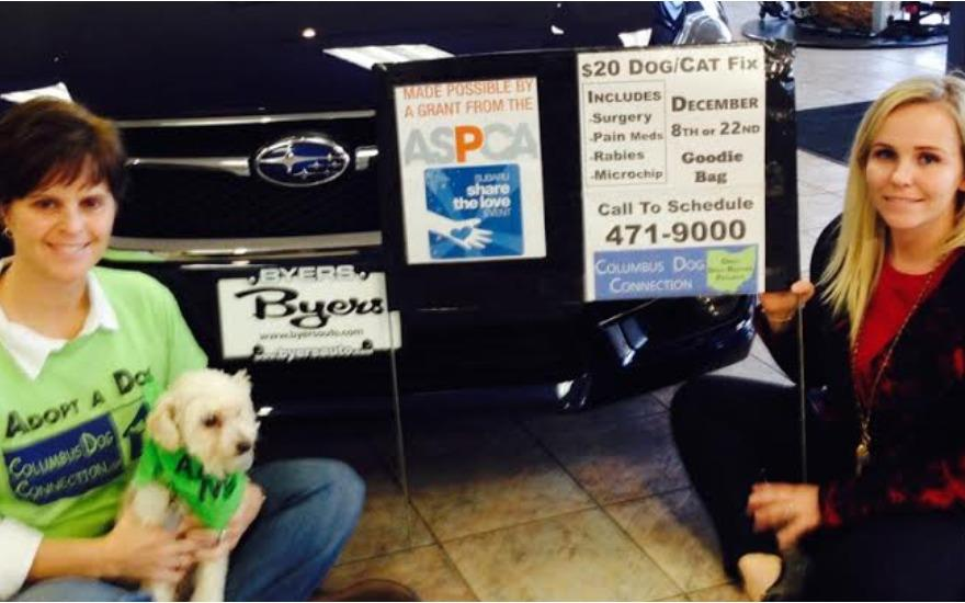 Byers Airport Subaru Cares About Neighborhood Pets