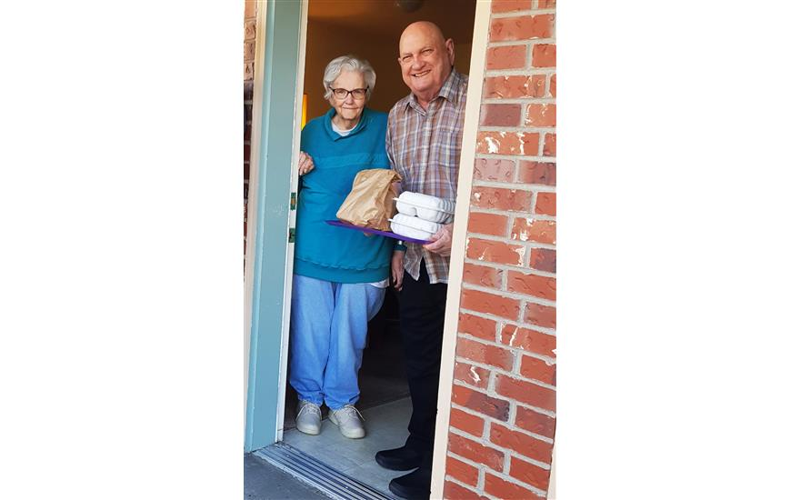 Sharing the Love with Meals on Wheels