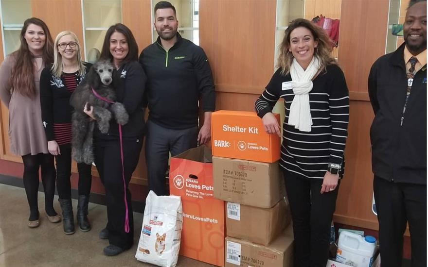 Subaru of Rochester Donates to Paws & Claws