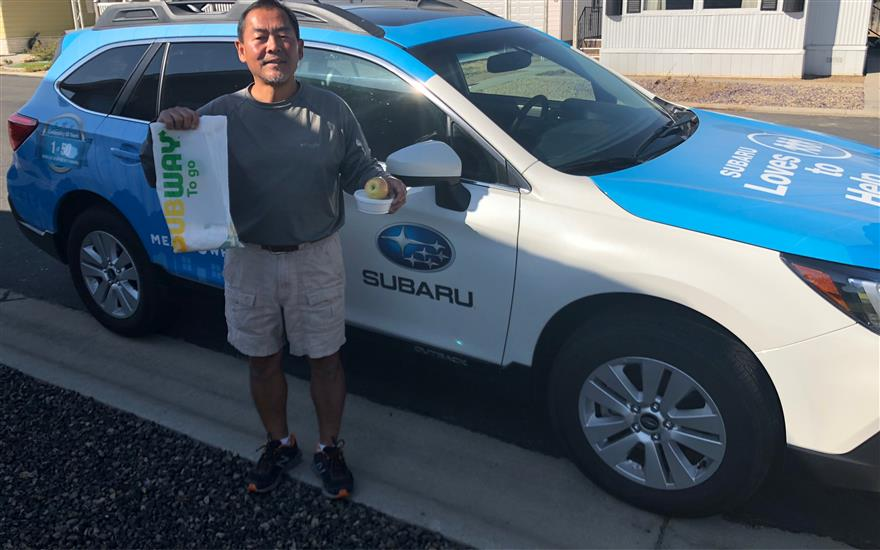 Subaru Delivers Subway in Boise