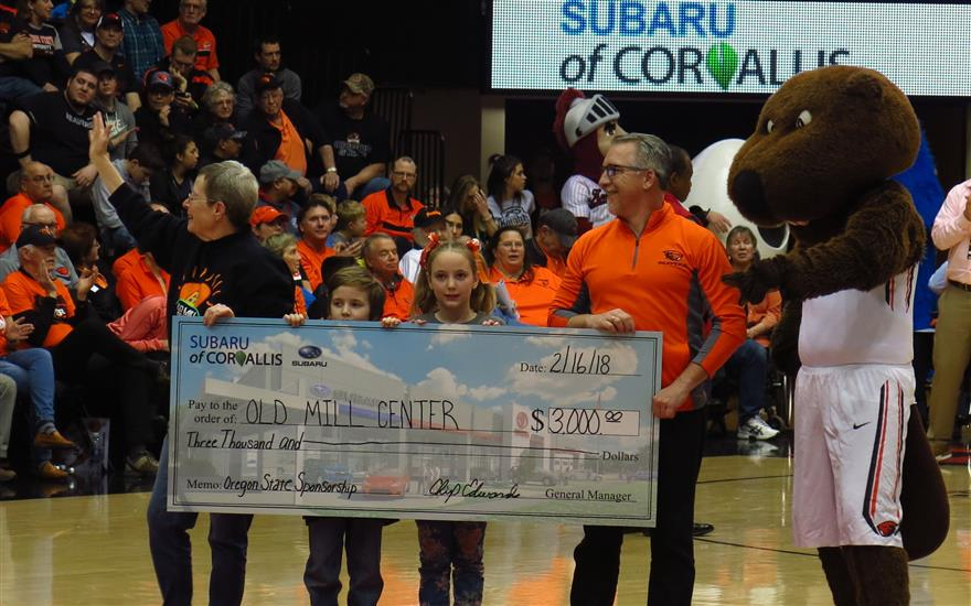 Corvallis Subaru -  Innovative Way to support kids