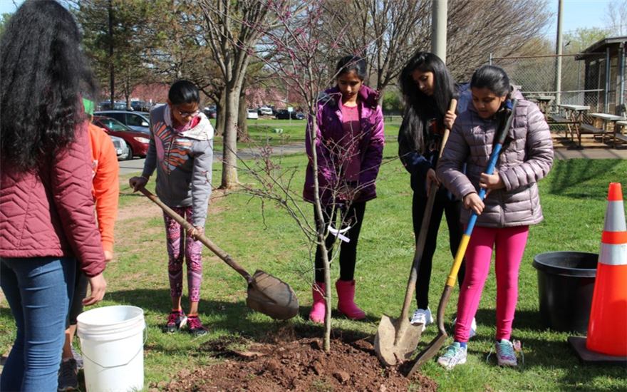 Herndon's Arbor Day Celebration