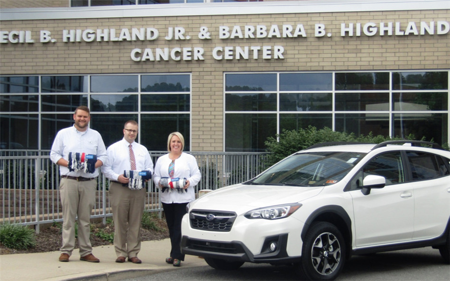 UHC Receives Donation from Jenkins Subaru