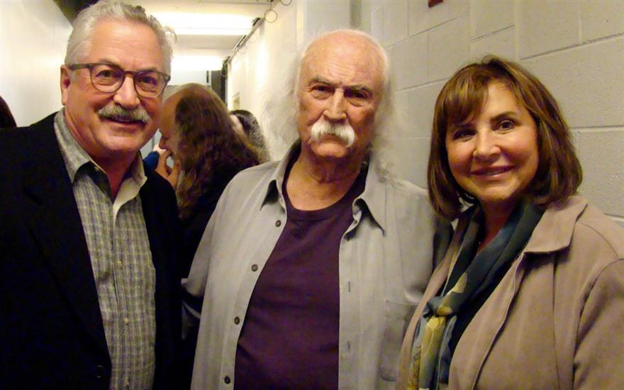Benefit Concert in Skokie with David Crosby