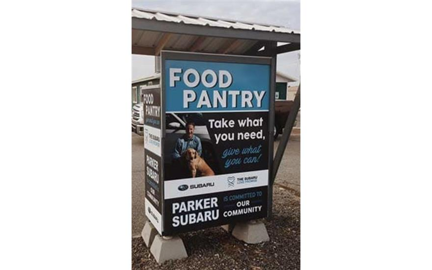 Parker Subaru Food Pantry