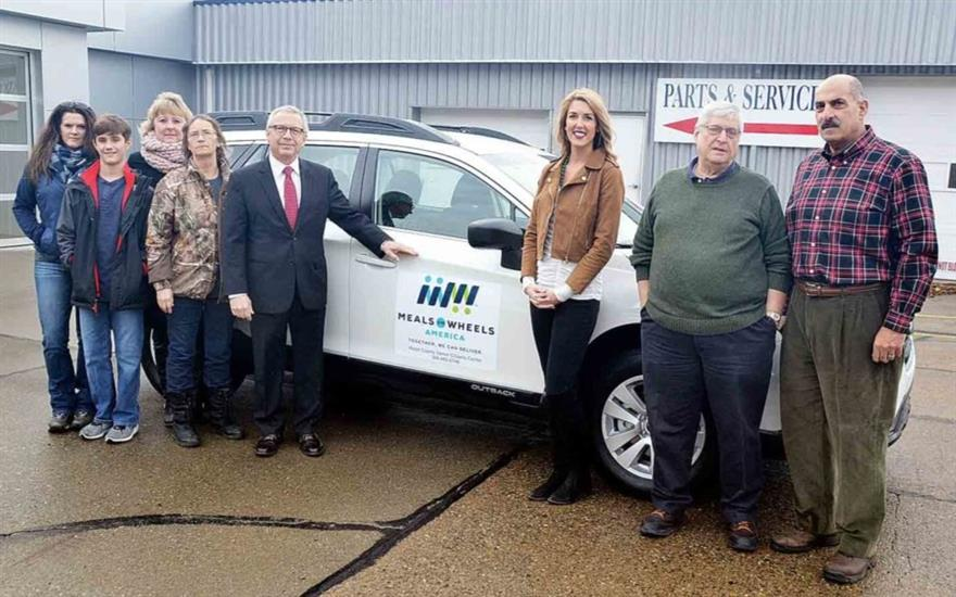 Senior citizens association buys vehicle to delive