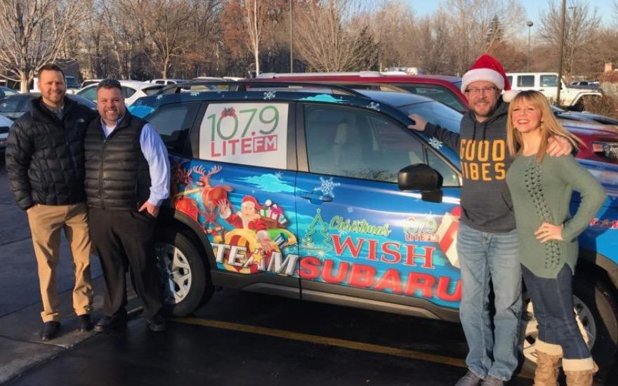 Did you spot the Subaru in Caldwell's Parade?