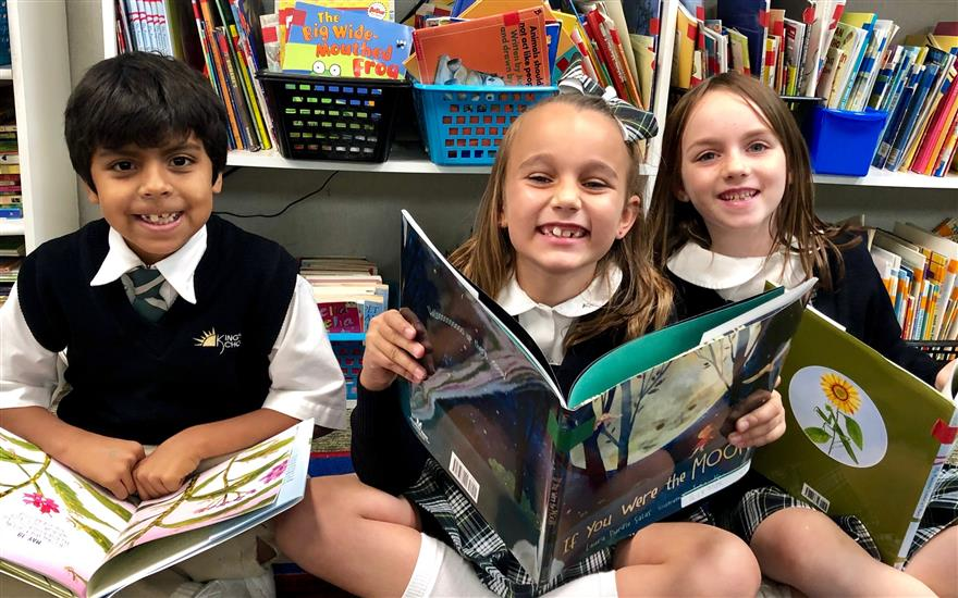 King's Schools Loves to Read!