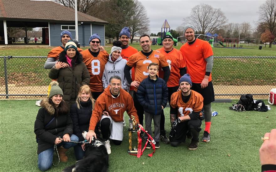 Supporting Jason's Dreams for Kids Turkey Bowl