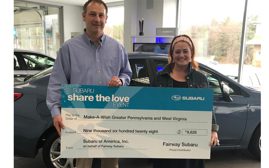 Fairway Subaru Makes Local Wishes Come True!