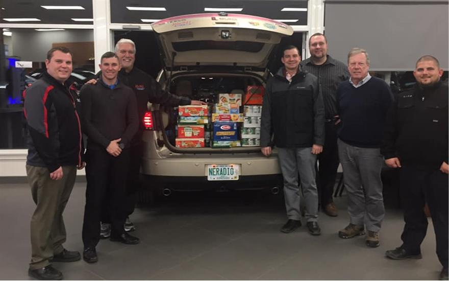 Belknap Subaru helps Mix Cash & Cans Program