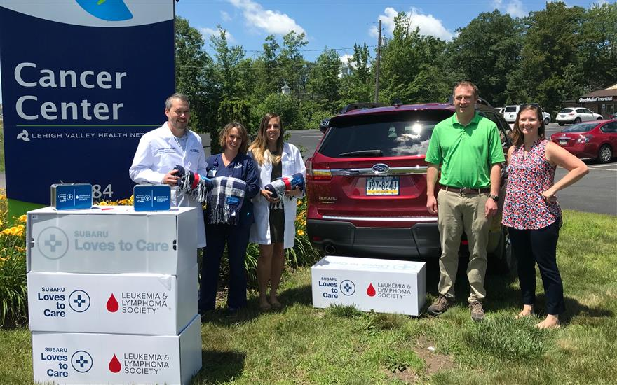LLS & Fairway Subaru team up to Love to Care!