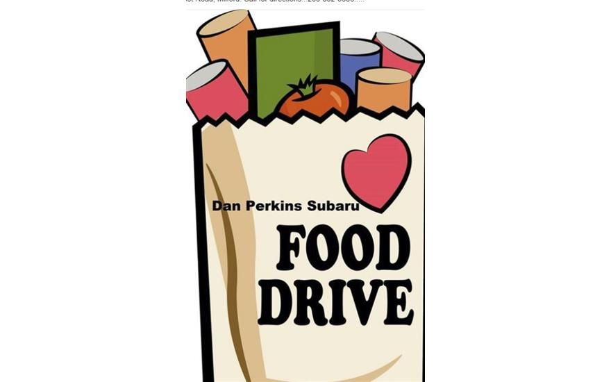 Dan Perkins Subaru Food Drive!