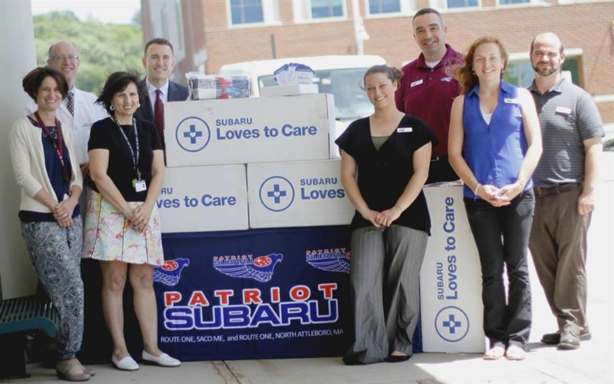 Mercy Hospital Blanket Delivery