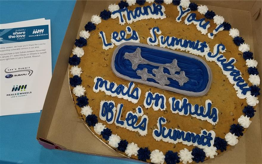 Meals On Wheels ¦ Lees Summit Subaru!