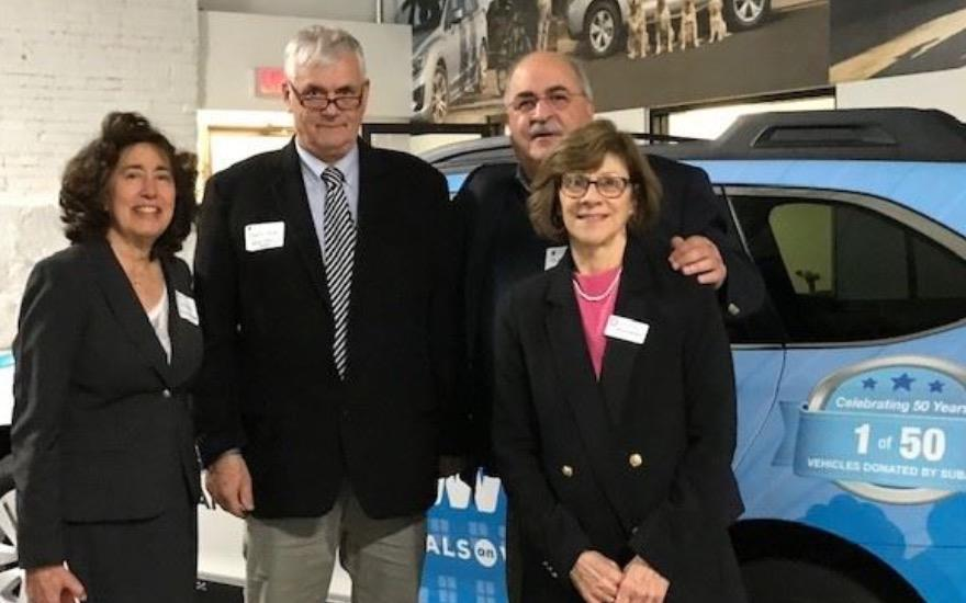Secor Subaru Supports TVCCA Meals on Wheels