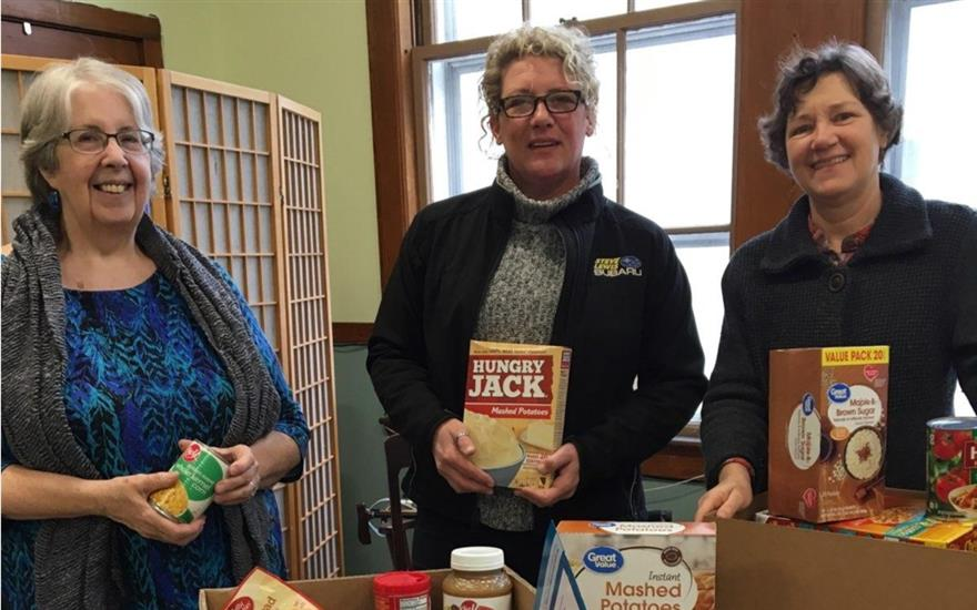 Food Donation to Local Food Pantry