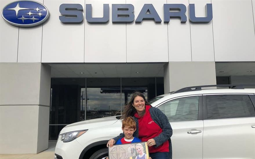 Test Drives for a Cure at Williams Subaru