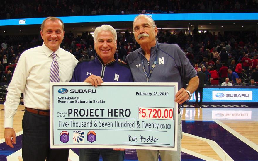 Project Hero Wins Big at Northwestern University