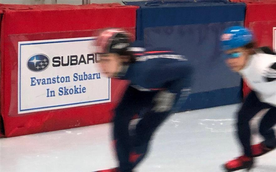 Potential Olympic Skaters get Subaru support