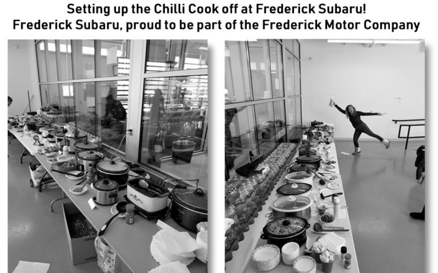 A chili cook off to benefit those in need
