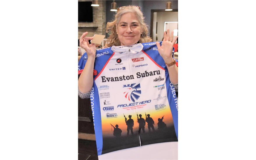 Evanston Subaru Thanks for the Jersey