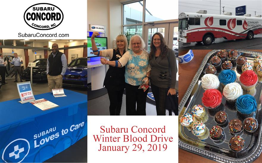 Subaru Concord Loves to Care - Winter Blood Drive