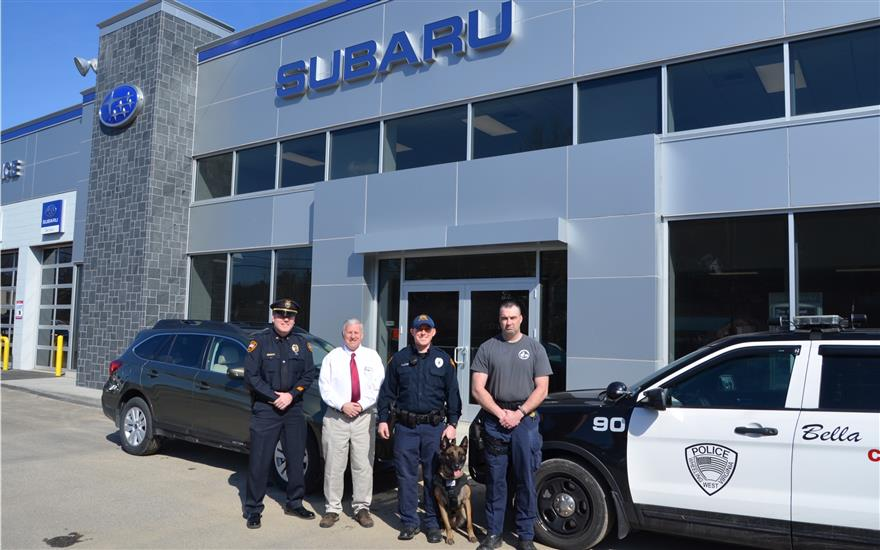 Wheeling PD Receives Donation for K-9 Vest
