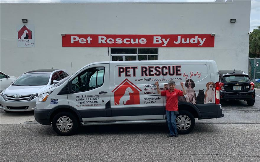 Pet Rescue by Judy Gets a New Van