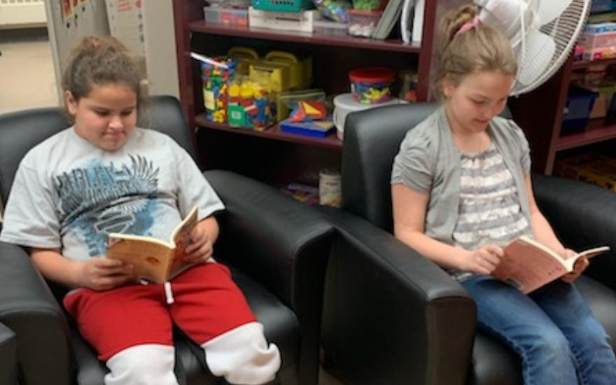 Belknap Subaru creates Reading Nook
