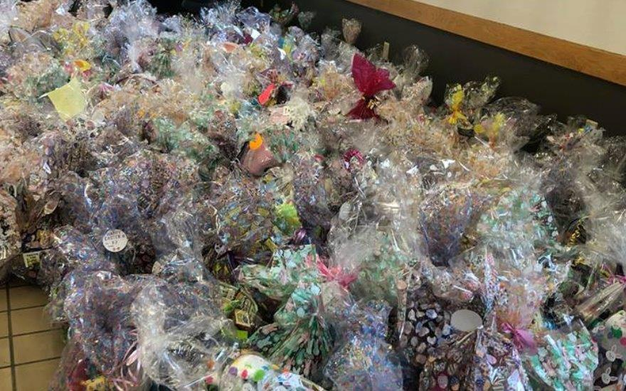 Over 500 Basket Colected for Easter for Eli