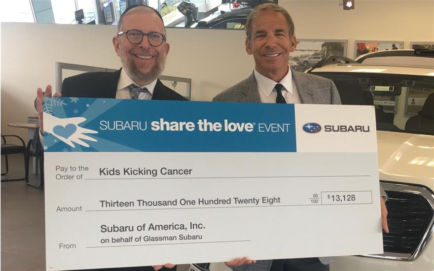 Glassman Share the Love-Kids Kicking Cancer