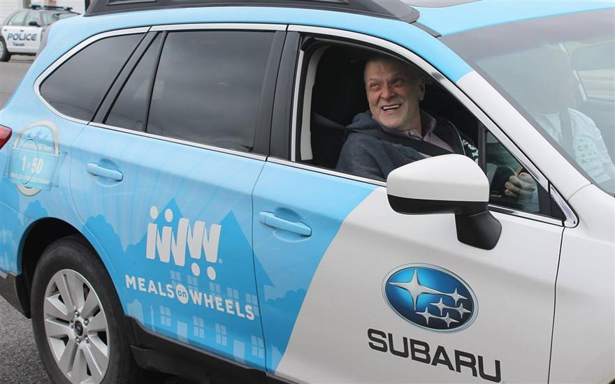 Subaru leads the way in 'March for Meals'