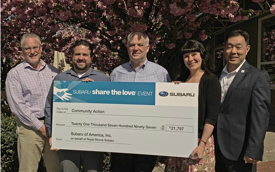 Royal Moore Subaru Supports Hope, Help & Change