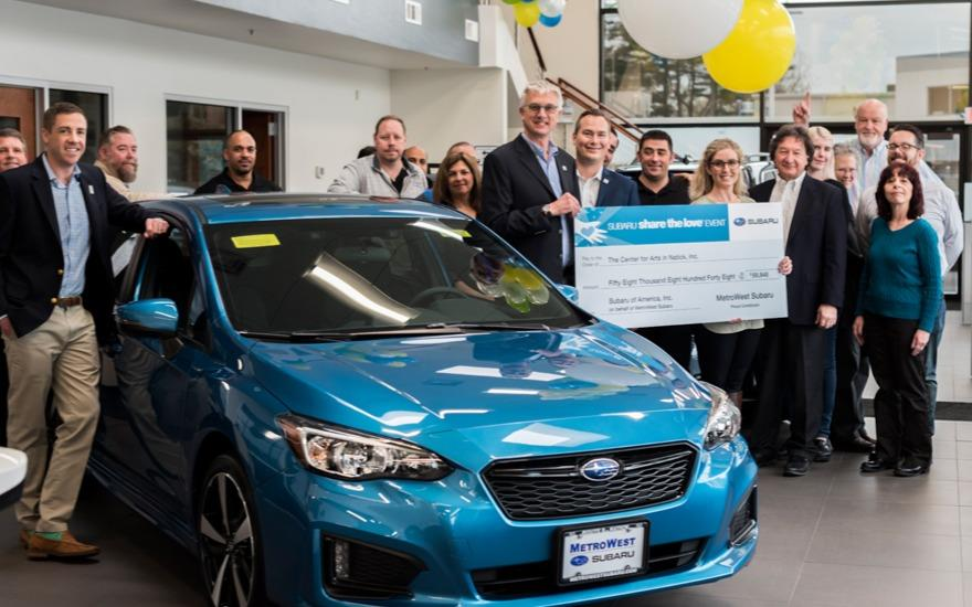 MetroWest Subaru Shares the Love with TCAN