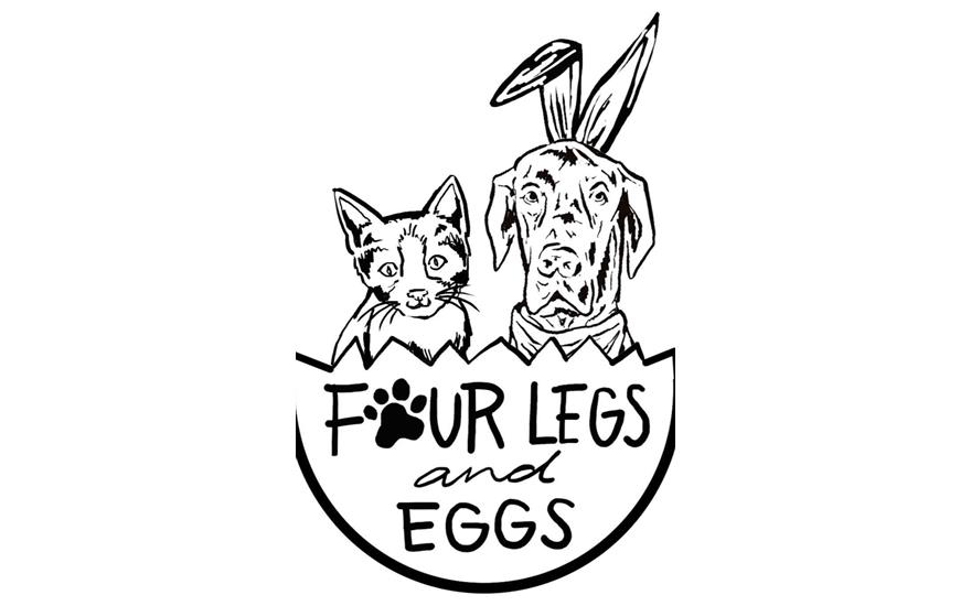 Wobble and Wine: Four Legs and Eggs – Meg R
