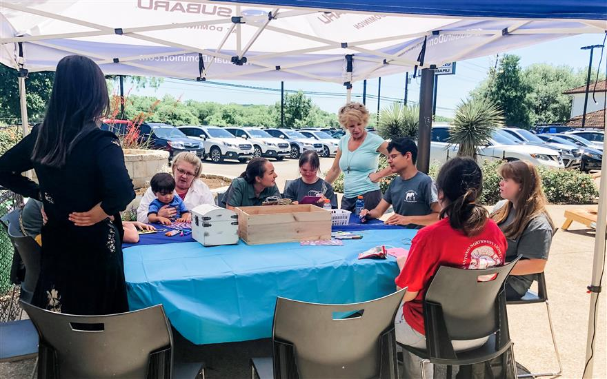 Gardening Day at North Park Subaru Dominion