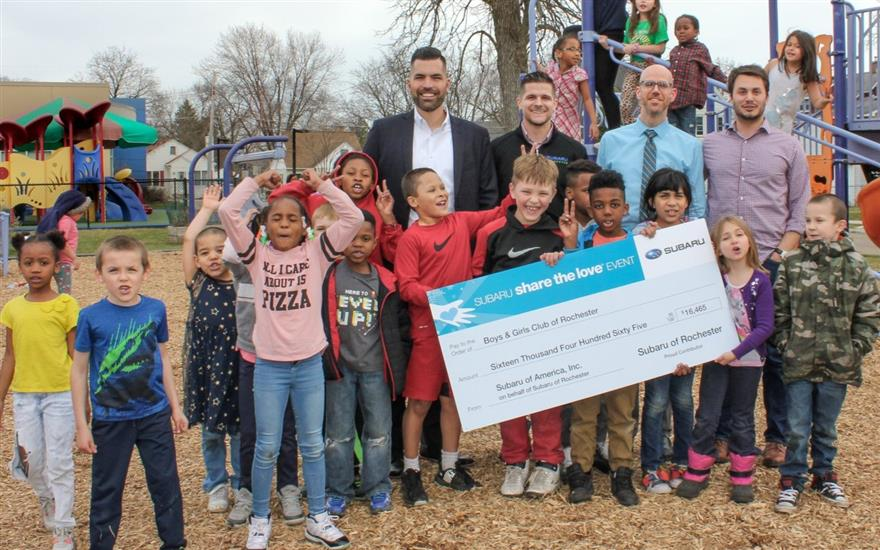 Subaru Shares the Love with Boys & Girls Club