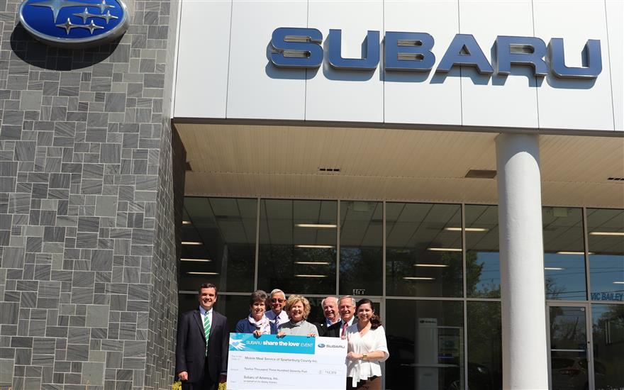 Vic Bailey Subaru Sharing Love to Feed Seniors