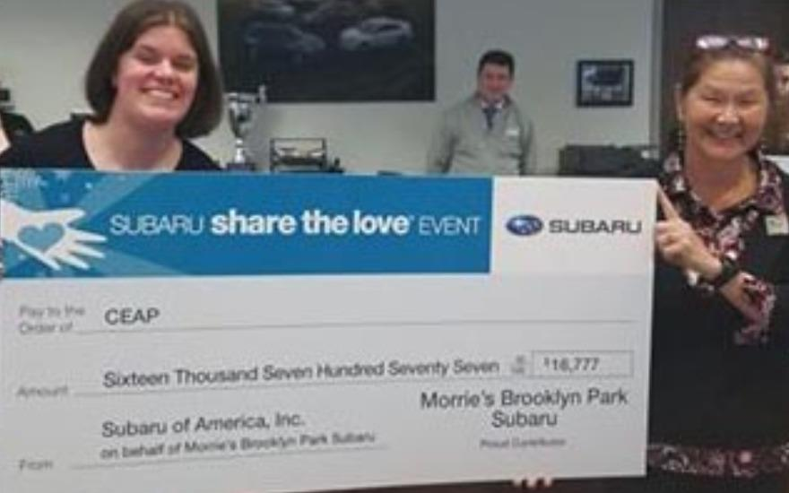Subaru Shares the Love