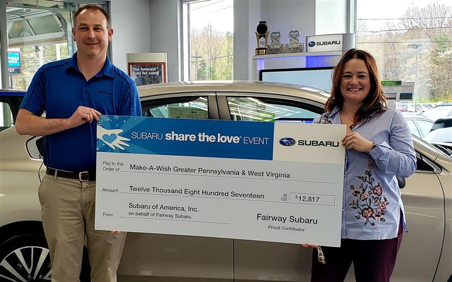 Fairway Subaru Grants 3 Magical Wishes!