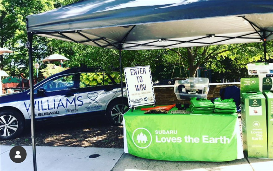 Williams Subaru Sponsors Matthews Earth Day 2019