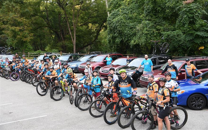 Working together to get kids outside and on bikes