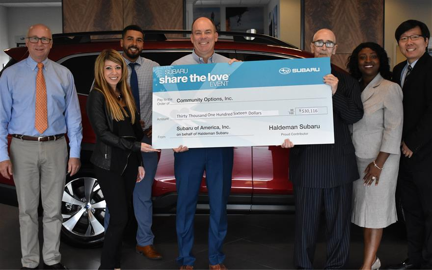 Haldeman Subaru- A Champion in the Community!