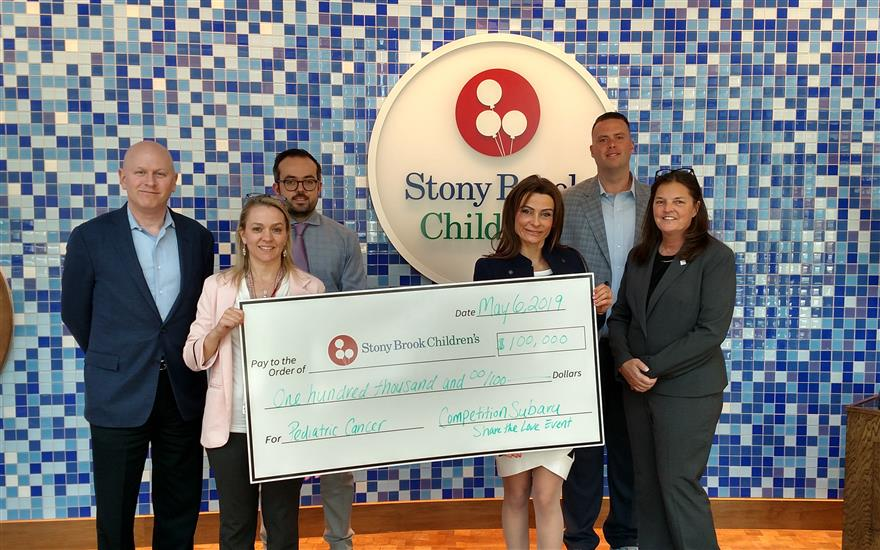 Competition Subaru Pledges $100K to Stony Brook!
