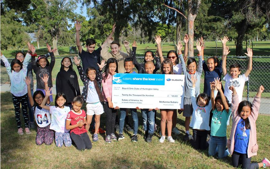 McKenna Subaru Supports HB & Fountain Valley Youth
