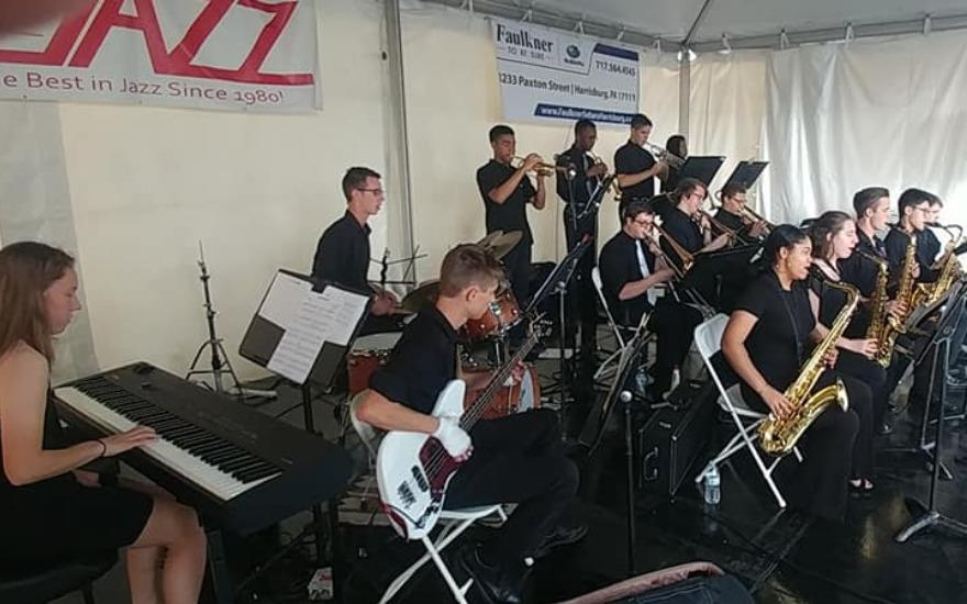 Jazz Stage at ArtsFest of Greater Harrisburg 2019